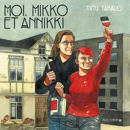 Chronique de la bande dessinée Moi, Mikko et Annikki