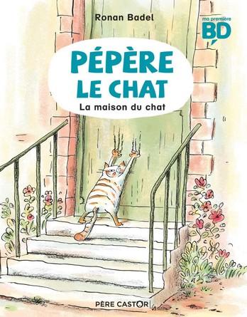 Chronique de l'album jeunesse Pépère le chat – La maison du chat