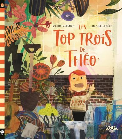Chronique de l'album jeunesse Les top trois de Théo