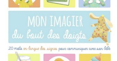 Chronique de l'album jeunesse Mon imagier du bout des doigts