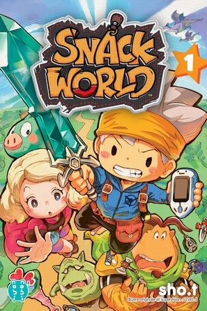 Chronique du manga Snack world