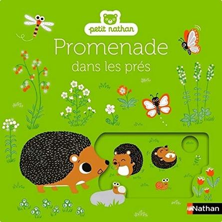 Chronique de l'album jeunesse Promenade dans les pres