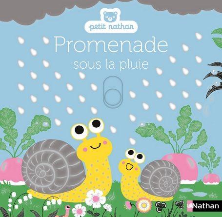 Chronique de l'album jeunesse Promenade sous la pluie