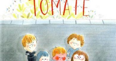 Chronique de l'album jeunesse Rouge tomate