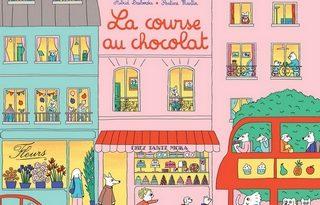 Chronique de l'album jeunesse la course au chocolat