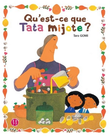 Chronique de l'album jeunesse Qu'est-ce que Tata mijote ?