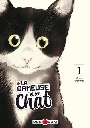 Chronique du manga la gameuse et son chat
